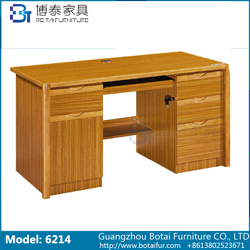 Computer Desk Solid Wood Edge  6214 6214B 6214C 6214D