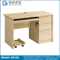 Computer Desk Solid Wood Edge  6312 6312B 6312C 6312D