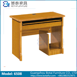 Computer Desk Solid Wood Edge  6508