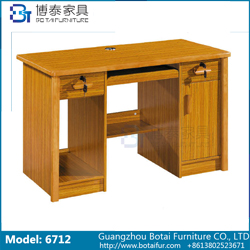 Computer Desk Solid Wood Edge  6712
