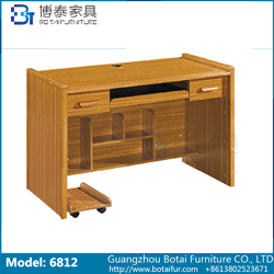 Computer Desk Solid Wood Edge  6812
